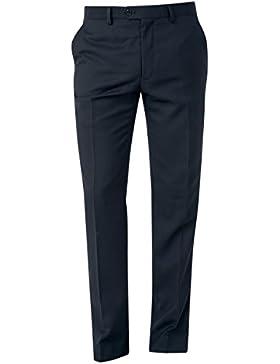 next Hombre Traje Corte Ajustado Textura: Pantalones Azul Marino EU 71 Short (UK 28S)