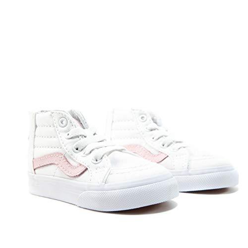 Vans Kids 'sk8-hi Zip-k, (True White Chalk Pink), 25 EU M Kleinkind
