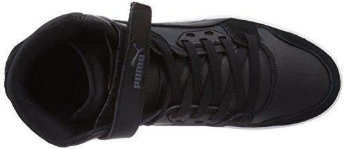 Puma Rebound Street 358237/08, Baskets mode homme Noir (Black/Black/Black 08)