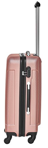 Packenger Reisekofferset Travelstar 3er-Set in verschiedenen Farben (Mauve) - 5