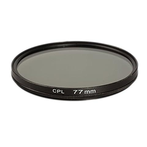 Tokina 20 35 - Ares Foto® 77mm Filtre polarisant circulaire pour