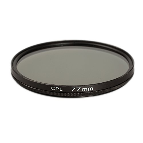 Ares Foto® 77mm Filtre polarisant Circulaire pour Tokina AF 11-16mm F2.8 at-X 116 Pro DX II
