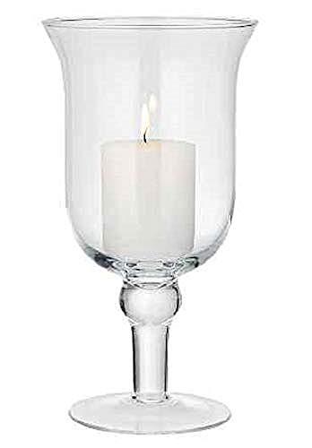 Verre à pied à Bell Cloche pour bougie 24.5 cm | décoratifs lampe
