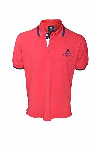 Alexandre Japhet-Paris Herren Poloshirt Rot Rot Rot - Rot