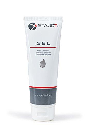 Tube de gel STAUDT 125 ml - pommade aromatique aux extraits de plantes et de moules vertes contre l'arthrose, l'arthrite, les rhumatismes et les douleurs articulaires. Bonne alternatives aux gélules à base de moules vertes et les comprimés ou poudres à base de glucosamine.