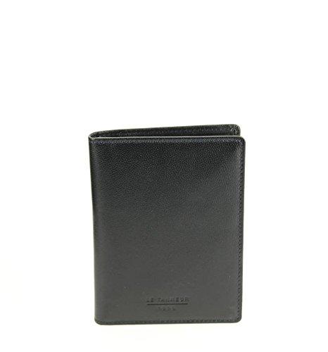 Le Tanneur, Borsa a spalla uomo nero nero 9 (L) x 12 (H) x 0.5 cm
