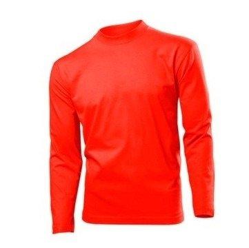 hanes-lungo-sleeve-heavy-maglietta-unisex-adulto-uomo-rosso-s