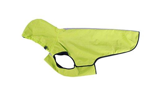 My Pet Outdoor-Dog-Jacken Winddichte Regenmantel Hoodies Sportlich Doggy Mäntel Grün 3XL (Kostüme Sportliche)