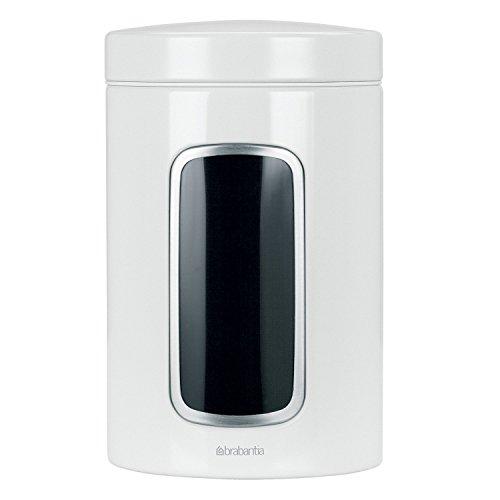 Brabantia Fensterdose 1,4 L rund/White