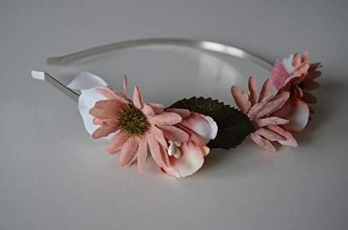 3c29c53c3 Tocado diadema floral niña