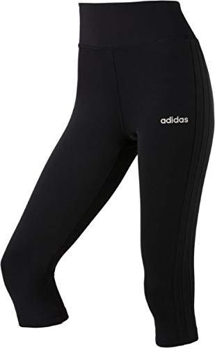adidas Damen Design 2 Move 3-Streifen 3/4-tights Black S
