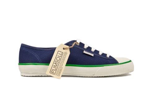 Plimsoll Lo Herren Sneaker Blau