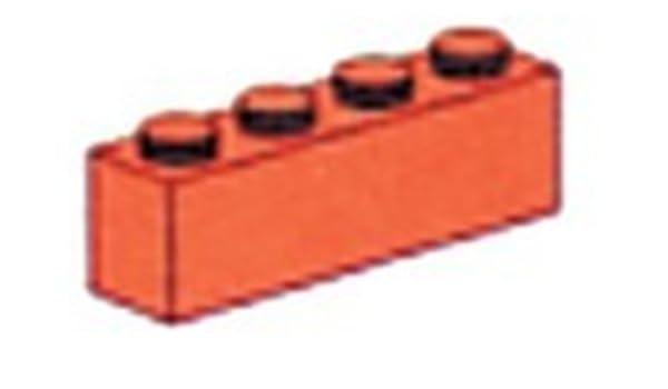 1x4 Grundbaustein mit Noppen LEGO®  beige 4 STÜCK