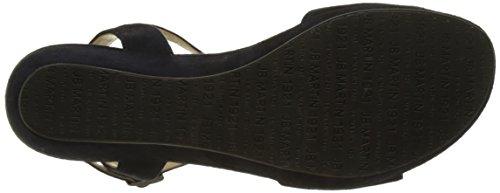 Jb Martin - Balti, Laccetto alla caviglia Donna Bleu (Chevre Velours Encre)