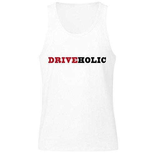 Driveholic The Person Who Loves Driving Men's Tank Top Shirt