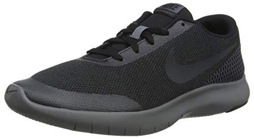Nike Jungen Kinderlaufschuh Boys Flex Run 7 Laufschuhe, Schwarz (Black/Anthracite/Dark Grey 006), 36.5 EU (Nike Turnschuhe Kid)