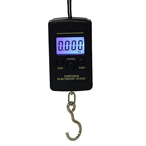 Tipo de pantalla: lcd, Capacidad: 40 kg, Precisión: 10 g, Número de modelo: Básculas digitales  Tamaño: 9 x 5 x 2 cm, Fuente de alimentación: 2 x AAA (no incluidas)  Tipo: Báscula de bolsillo, Carga nominal: 40kg, Material: plástico y acero inoxidabl...