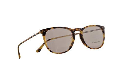 Burberry B 2258-Q-F Brillen 55-19-145 Licht Braunem Mit Demonstrationsgläsern 3278 BE BE2258Q B2258-Q-F