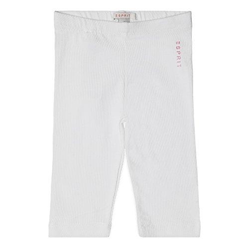 Esprit Kids Baby-Mädchen Legging, Weiß (White 010), 92 (92)