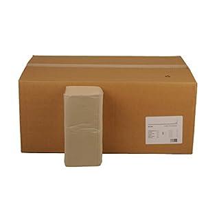 Funny Papierhandtuch, 1-lagig, ZZ/V Falz, 25×23 cm, grau, 1er Pack (1 x 6 Stück)
