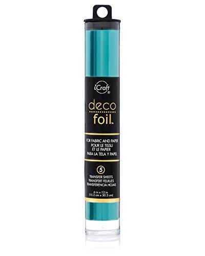 Thermoweb Folie Deco 6x 12Zoll, diverse Farben