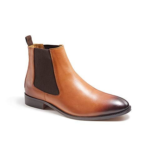 MF MC FINLAY BOOTMAKER - Botas Chelsea Conor de Piel, Color...