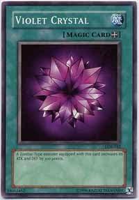 Yu-Gi-Oh! - - - Violet Crystal (LOB-042) - Legend of Blue Eyes White Dragon - 1st... | Pour Gagner L'éloge Chaleureux Auprès De Ses Clients  ec1cb7