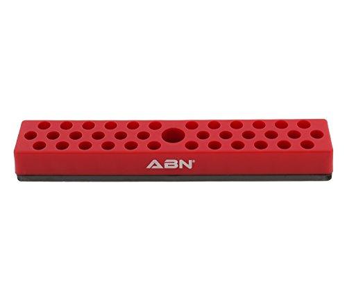 Sae Hex Bit (ABN Magnetische 36 Stück SAE Standard 1/4 Zoll Bit & Adapter Kunststoff Organizer Tray Holder Hex, Torx & mehr)