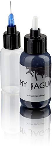 Jagua Gel 30 ml + Applikator | temporäre blau-schwarze Tattoos | natürlich | Henna
