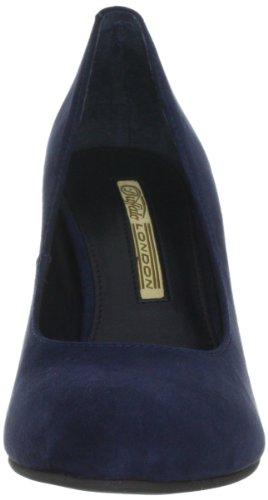 Buffalo London 9681-525 KID SUEDE 124534, Scarpe col tacco donna Blu (Blau (ISLANDBLUE 01))