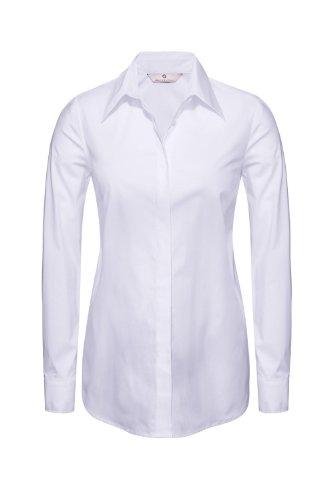 Bellybutton Blouse N/A Manches longues Femme Blanc - Weiß (white)