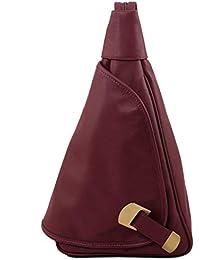 e17d0d152697d Tuscany Leather Hanoi Rucksack Tropfendesign aus Leder