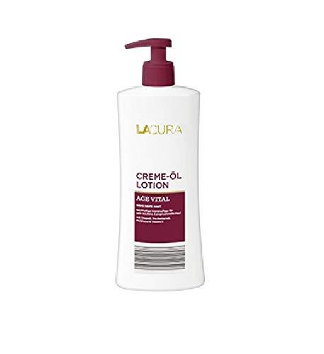 LACURA AGE VITAL Körpermilch Creme-Öl Lotion für SEHR Reife Haut 500ml