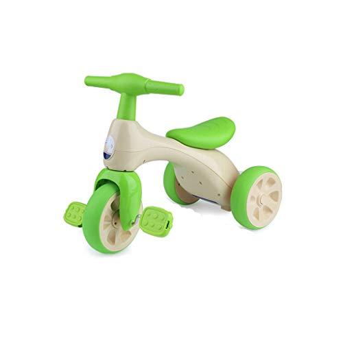 Kinder Dreirad Fahrrad 1-3 Jahre alt Baby Kind Kinderwagen 3 Rad Auto rutschig Baby Schieben Fahrrad