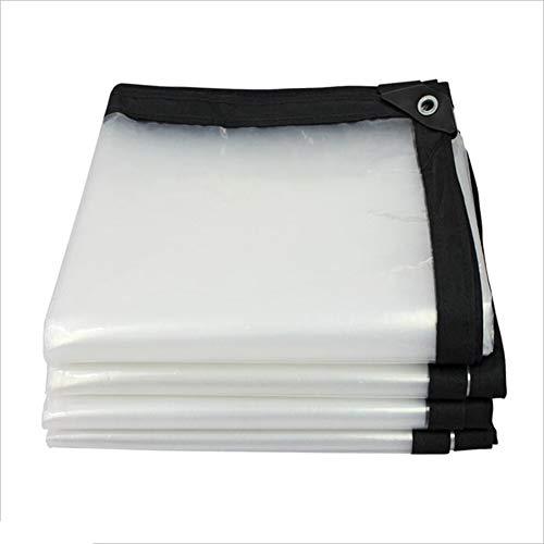 JIANFEI Lona Impermeable A Prueba De Lluvia Aislamiento Transparente Resistente Al Desgaste, Tamaño del 22 Se Puede Personalizar