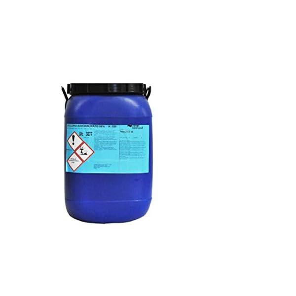 CUBEX PROFESSIONL Dicloro 56% Cloro granulare Pulizia igiene Manutenzione Acqua Piscina kg 25
