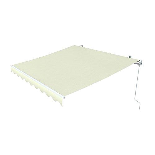 Galleria fotografica paramondo Tenda da sole a bracci Easy, 2,5 x 2 m, tessuto: a tinta unita, beige chiaro
