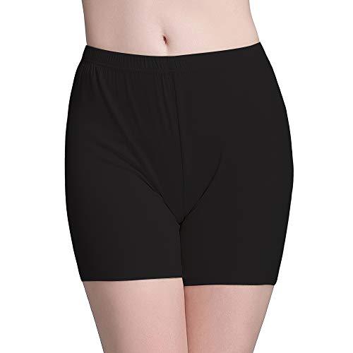 Vinconie Damen Short Leggings Kurze Hose Unter Rock Plus Größe Radler Tights Yoga (Womens Workout Shorts Plus)