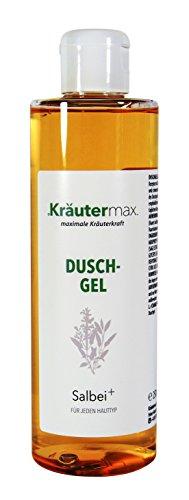 Salbei-Dusch-Gel 1 x 250 ml - Salbei-Öl-Haut - OHNE Aluminiumsalze