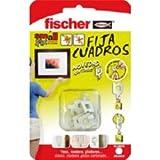 Fischer 522206 Bilderhaken, 8 Stück, Weiß