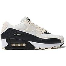 cdbcd4b9cd9 Nike Nike325213-138 Air Max 90 - Femme - Ivoire pâle Blanc Noir