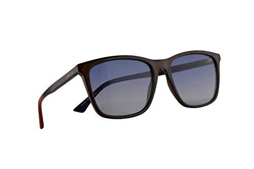 Gucci GG0404S Sonnenbrille Grün Mit Mehrfarbigem Verlaufsglas Gläsern 58mm 011 GG0404/S 0404/S GG 0404S