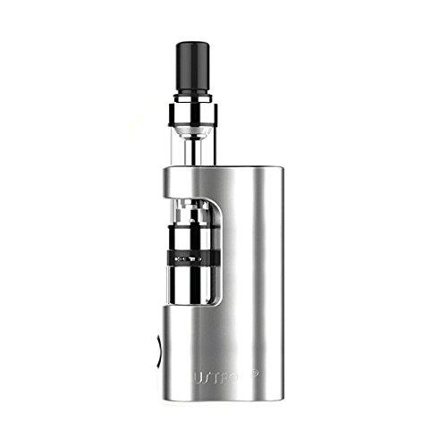 Justfog Compact Kit Q14 Atomizzatore Q14 e Box da 900 mah Colore Silver Acciaio Prodotto Senza Nicotina