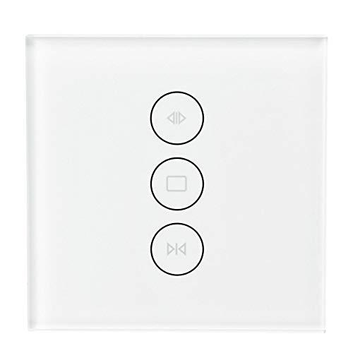 ZRK Smart Curtain Switch-Mobiltelefon-Fernbedienung Voice Intelligent-Voice Control WiFi-Vorhangschalter Typ 86-Care für gesundes Leben - für die Smart Home Family -