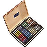 W&N Soft Pastels Wooden Box Set 48 Assorted*