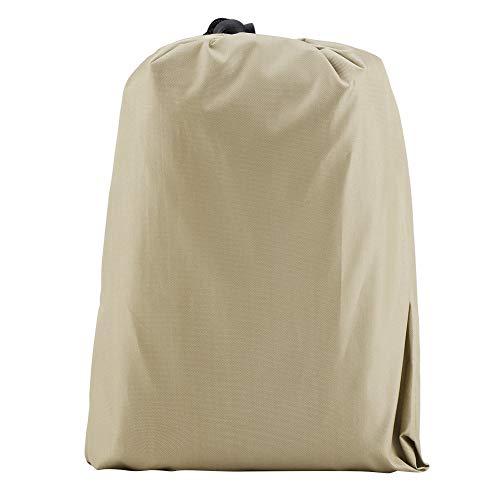 Zerodis Housse de Chauffage Extérieur Protection pour Parasol Chauffant Couvercle pour Radiateurs Pyramide Chauffage(Beige)