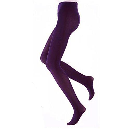 Libella bunte Damen Strumpfhose Mikrofaser 80 DEN in Klassischen und Trendfarben Violett S