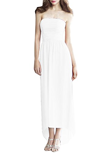 ShiYuan - Robe - Trapèze - Femme Blanc