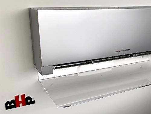 Deflettore aria condizionatori e split in plexiglas ALTUGLAS cm 100 x 8 28 12