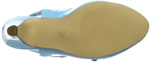 Joe Browns Damen Cherry Baby Patent Shoes Pumps Blue (a-pale Blue)